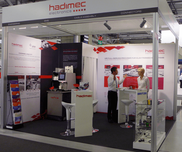 Messestand Design – hadimec & Britze