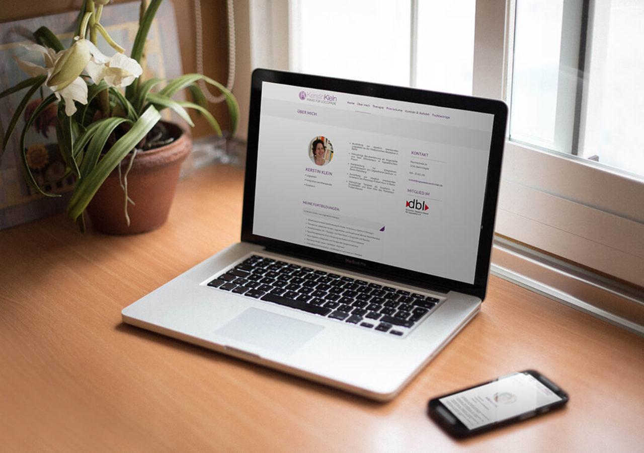 Responsive Webdesign für logopädische Praxis in Berlin