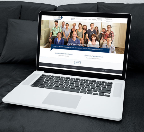 WordPress Website – Logopädie Brase