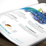 Printwerbung Anzeige Design