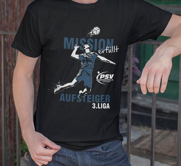 Printdesign – Sportverein PSV Neustrelitz