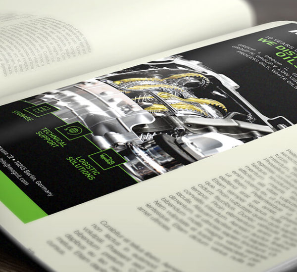 Design Printanzeige – MOGoil