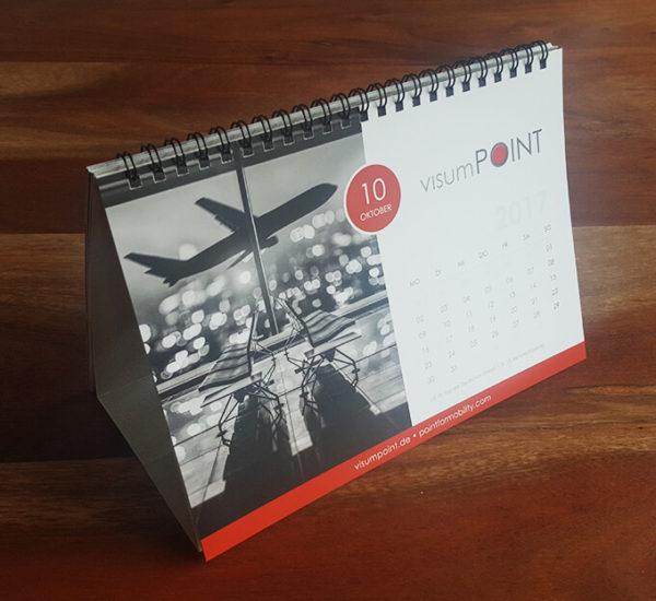 Tischkalender Design – Visumpoint