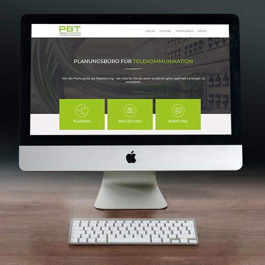 WordPress Webdesign – Onepager