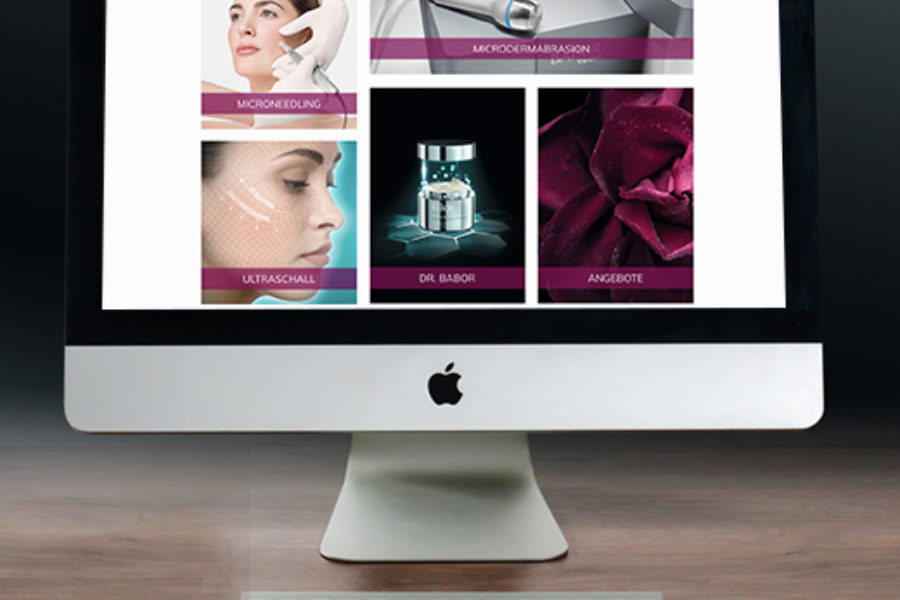 Webdesign Kosmetikstudio