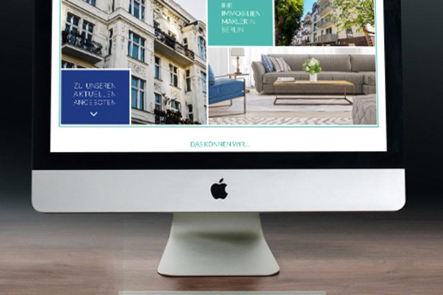 Immobilienmakler Website