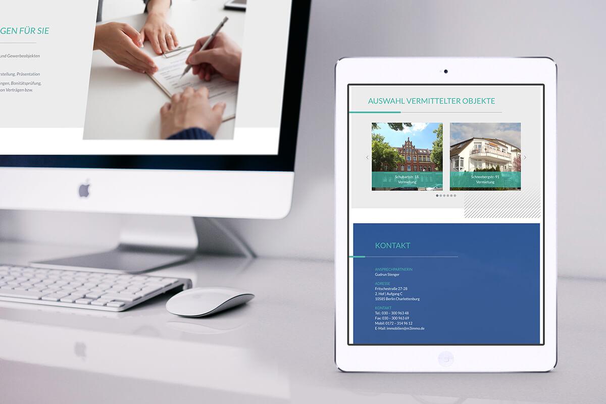 immobilienmakler website onlinemarketing designagentur berlin. Black Bedroom Furniture Sets. Home Design Ideas