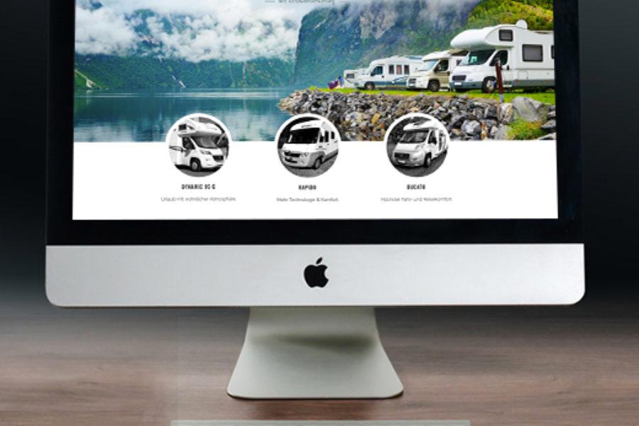 WordPress Website – Camperpilot