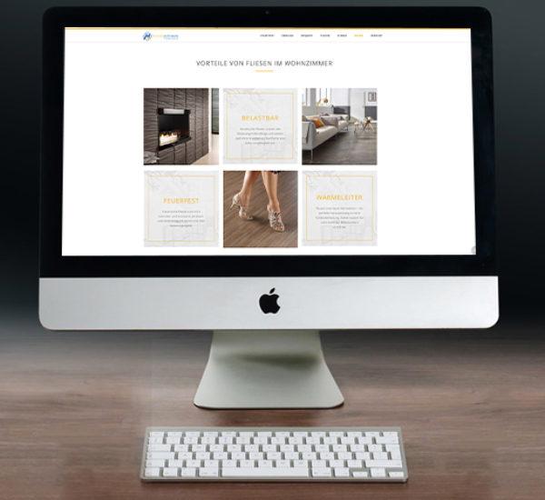 Webdesign für Fliesenleger