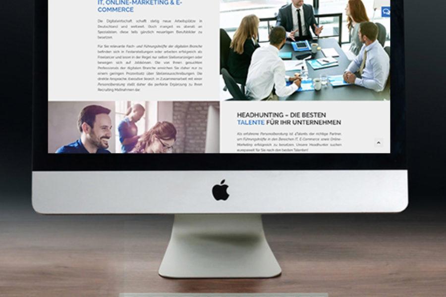 Headhunter WordPress Website