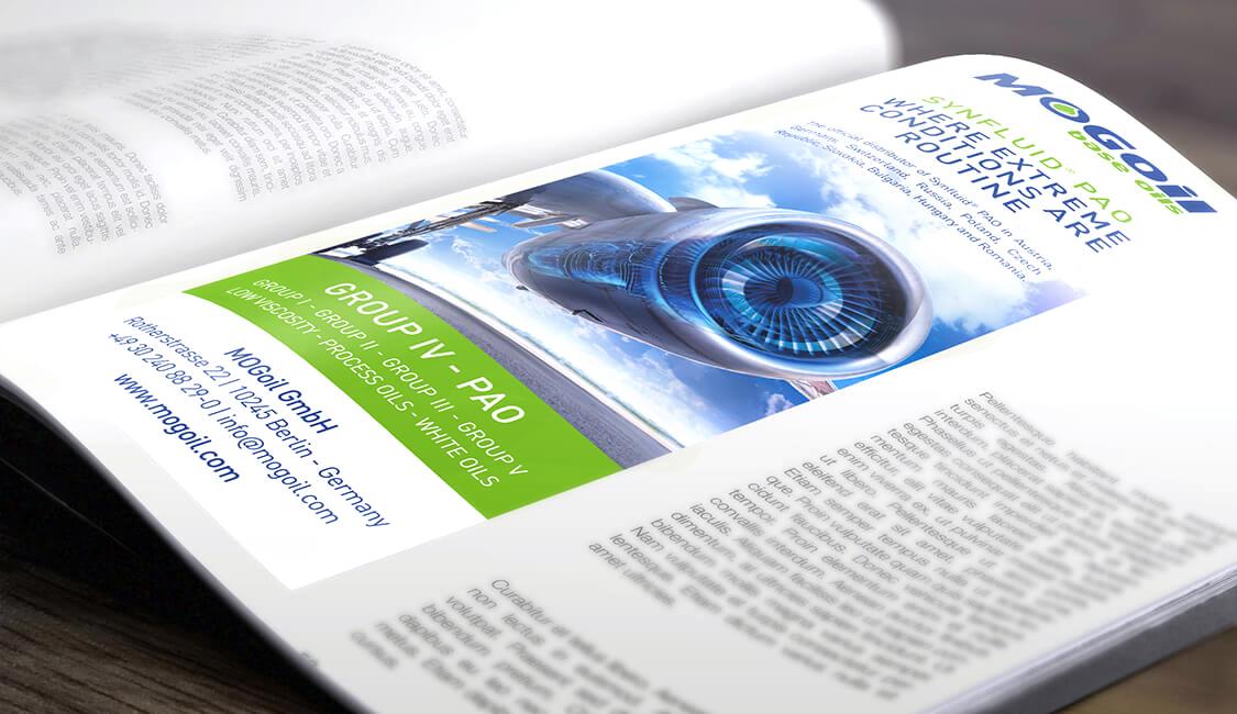 Design Werbeanzeige – MOGoil